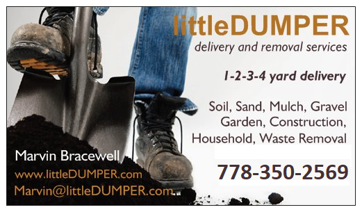 littleDUMPER business card
